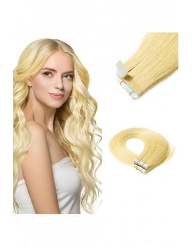 Extensii Tape In Premium Blond Auriu 22