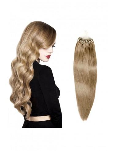 Extensii Cu Microring Premium Blond...