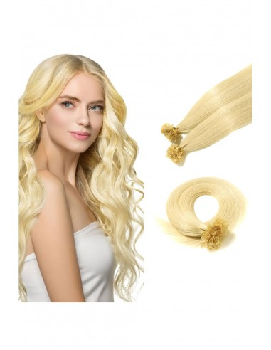 Extensii cu Cheratina Premium Blond...