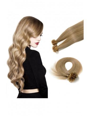 Extensii cu Cheratina De Lux Blond...
