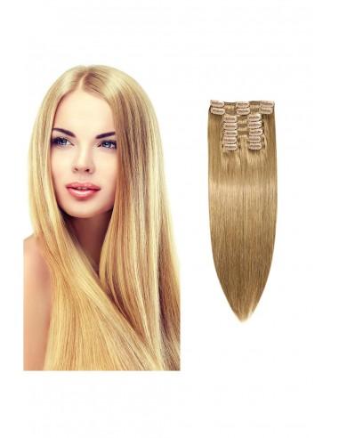 Extensii Clip On Premium Blond...
