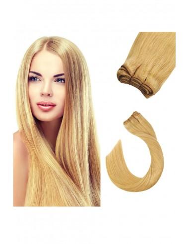 Extensii Cusute De Lux Blond Sampanie...