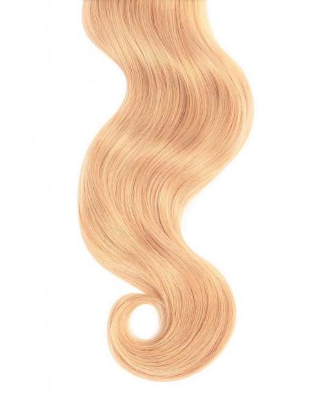Extensii Clip On Premium Blond Sampanie 27D2