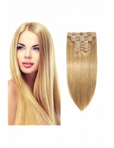 Extensii Clip On Lux Blond Sampanie 27D